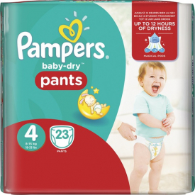 Pampers Baby Dry Pants Size 4 x23