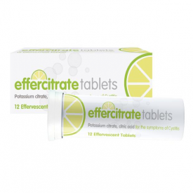 Effercitrate For Cystitis – 12 Effervescent Tablets
