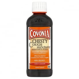 Covonia Chesty Cough Mixture Mentholated – 150ml