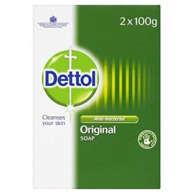 Dettol Anti-Bacterial Original Soap Twin Pack (2 x 100g)