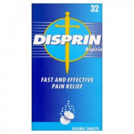 Disprin Pain Relief (Aspirin) - 32 Tablets