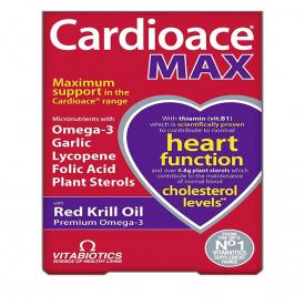 Vitabiotics Cardioace Max - 84 Capsules