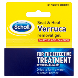 Scholl Seal & Heal Verruca Removal Gel - 10ml