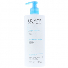 Uriage Cleansing Cream For Sensitive Skin 500ml