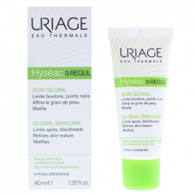 Uriage Hyseac 3-Regul Global Skin Care For Oily Skin 40ml