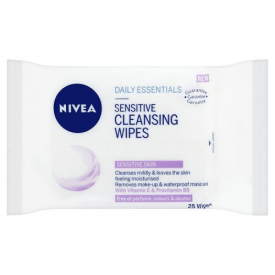 Nivea Daily Essentials Sensitive - 25 Cleansing Wipes
