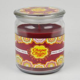 Chupa Chups Large Candle Jar Cherry 453g