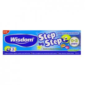 Wisdom Step By Step 0-3 Toothpaste – 75ml