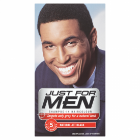Just For Men Shampoo-In Haircolour Natural Jet Black H-60