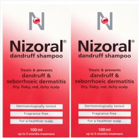 Nizoral Anti Dandruff & Seborrhoeic Dermatitis Shampoo 100ml – Duo Pack