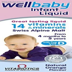 Vitabiotics Wellbaby Multivitamin Liquid - 150ml (Expiry 09/20)