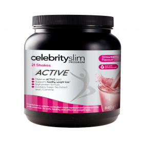 Celebrity Slim Active Shake 840g - Strawberry