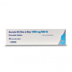 Accrete D3 1000mg/8801u - 30 Tablets