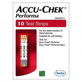 Accu-Chek Performa Test Strips - 10 Strips