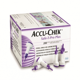 Accu-Chek Safe-T-Pro Plus Lancets 200 Lancets