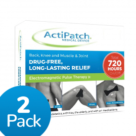 Actipatch Back, Knee and Muscle & Joint Therapy Device (2 Pack)