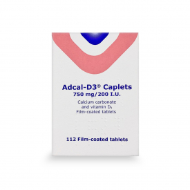Adcal-D3 750mg/200 I.U - 112 Caplets