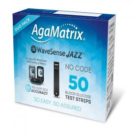AgaMatrix WaveSense Jazz Duo - 50 Test Strips