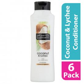 Alberto Balsam Coconut Conditioner 350ML (Case of 6)