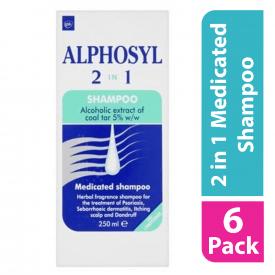 Alphosyl 2in1 Shampoo - 250ML (Case of 6)