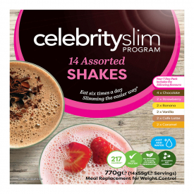 Celebrity Slim Assorted 7 Day Pack - 14 Shakes