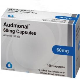 Audmanol (Alverine) 60mg – 100 Capsules