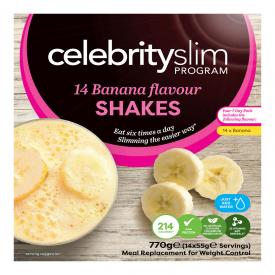 Celebrity Slim Banana 7 Day Pack - 14 Shakes