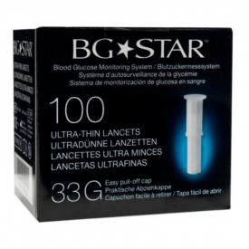 BG Star Ultra Thin Lancet 33 100 Lancets