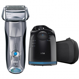 Braun Series 7 7898cc Men's Electric Foil Shaver, Wet & Dry with Clean and Charge Station