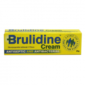 Brulidine Antiseptic and Antibacterial Cream 0.15% - 25g