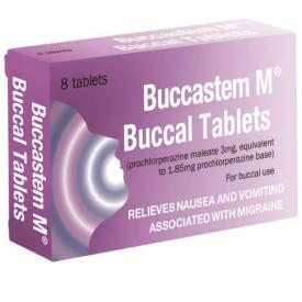 Buccastem M Buccal - 8 Tablets