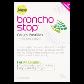 Buttercup BronchoStop Cough Pastilles - 10 Pastilles