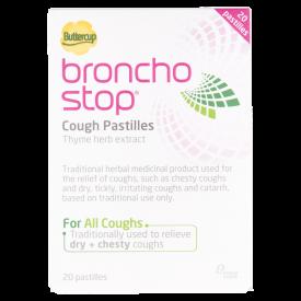 Buttercup BronchoStop Cough Pastilles - 20 Pastilles