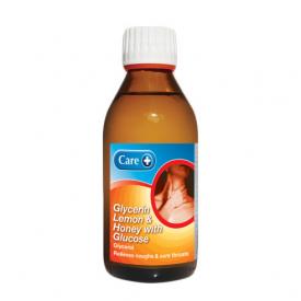 Care Glycerin Lemon & Honey With Glucose - 200ml