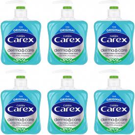 Carex Dermacare Original Antibacterial Handwash - 250ml 6 Pack