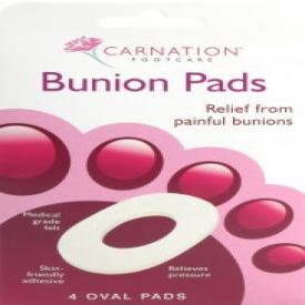 Carnation 4 Bunion Oval Pads