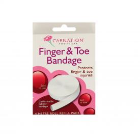 Carnation Finger & Toe Bandage