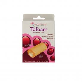 Carnation Tofoam - Small & Large Tubes