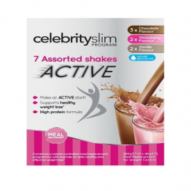 Celebrity Slim Active Multipack Assorted Shakes 7x40g