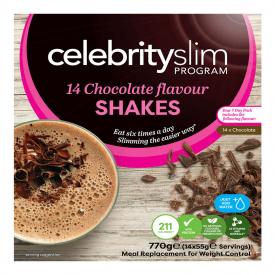 Celebrity Slim Chocolate 7 Day Pack - 14 Shakes