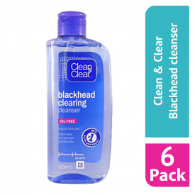 Clean & Clear Blackhead Clearing Cleanser 200ml (Case Of 6)