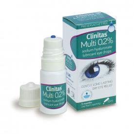 Clinitas Multi 0.2% Dry Eye Relief Drops - 10ml