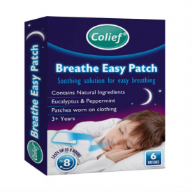 Colief Breathe Easy For Colds - 6 Patches