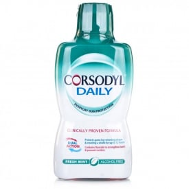 Corsodyl Daily Mouthwash Cool Mint - 500ml