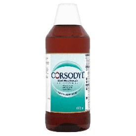 Corsodyl Mint Mouthwash - 600 ml