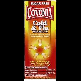 Covonia Cold & Flu Sugar Free Formula - 160ml