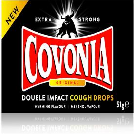 Covonia Double Impact Original Cough Drops - 51g