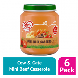 Cow & Gate Jar Mini Beef Casserole 125g (Case Of 6)