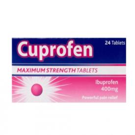 Cuprofen Maximum Strength 400mg - 24 Tablets
