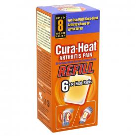 Cura-Heat Arthritis Pain Refill - 6 Heat Packs